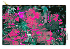 Rose 72 Carry-all Pouch by Pamela Cooper
