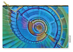 Carry-all Pouch featuring the painting Stairway To Lighthouse Heaven by Deborah Boyd