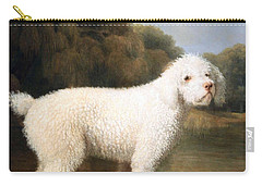 Stubbs' White Poodle In A Punt Carry-all Pouch