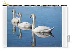 3 Swans A-swimming Carry-all Pouch