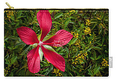 Hibiscus Coccineus Carry-All Pouches