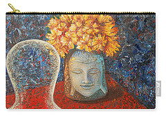 Tibetan Prayers Carry-all Pouch