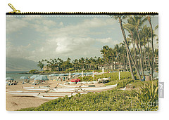 Wailea Beach Maui Hawaii Carry-all Pouch