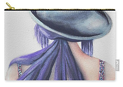 Carry-all Pouch featuring the painting What Lies Ahead Series by Chrisann Ellis