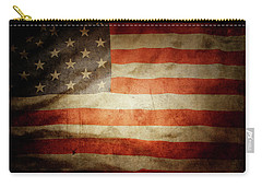 American Flag 48 Carry-all Pouch