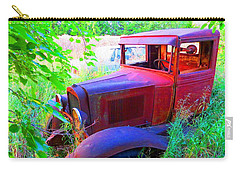 Carry-all Pouch featuring the photograph 32 Ford by Aaron Martens