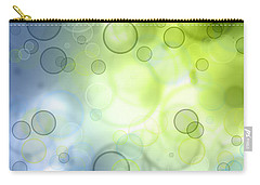 Abstract Circles 44 Carry-all Pouch