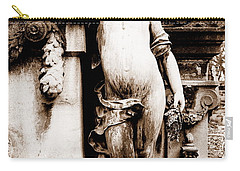 Pere-lachais Cemetery In Paris France Carry-all Pouch by Richard Rosenshein