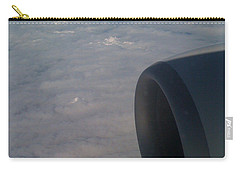 33000 Feet Carry-all Pouch by Mark Alan Perry