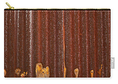 Carry-all Pouch featuring the photograph 344 And Rust by Gary Slawsky