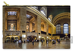 360 Panorama Of Grand Central Terminal Carry-all Pouch