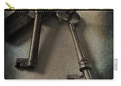 Vintage Keys Vignette Carry-all Pouch