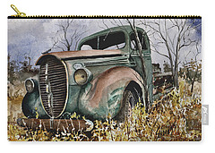 39 Ford Truck Carry-all Pouch by Sam Sidders