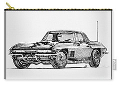 1967 Corvette Carry-all Pouch by J McCombie