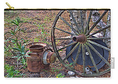 Abandoned - Hdr Grunge Carry-all Pouch