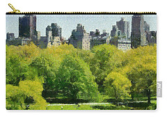 Central Park In New York Carry-all Pouch