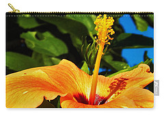 Carry-all Pouch featuring the photograph Untouched Beauty by Faith Williams