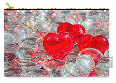 Crystal Heart Carry-all Pouch
