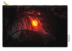 Fire In The Sky Carry-all Pouch by Jay Milo