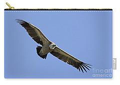 Griffon Vulture Gyps Fulvus Carry-all Pouch by Eyal Bartov