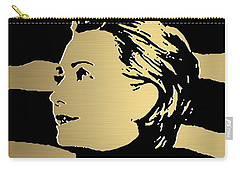 Hillary Clinton Gold Series Carry-all Pouch by Marvin Blaine