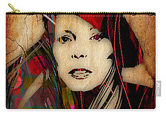 Joni Mitchell Collection Carry-all Pouch by Marvin Blaine