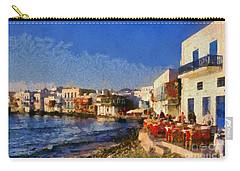 Little Venice In Mykonos Island Carry-all Pouch