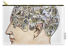 Phrenology, 19th Century Carry-all Pouch by Granger