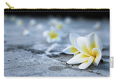 Plumaria Flowers Carry-all Pouch