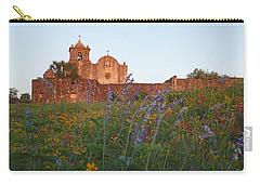 Carry-all Pouch featuring the photograph Presidio La Bahia 2 by Susan Rovira