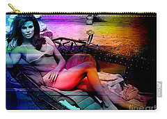 Raquel Welch Carry-all Pouch by Marvin Blaine