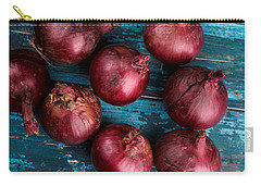 Red Onions Carry-all Pouch by Nailia Schwarz