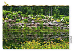 Rocks And Plants In Rock Garden Carry-all Pouch