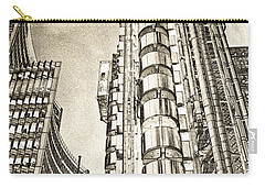 Willis Group And Lloyd's Of London Art Carry-all Pouch