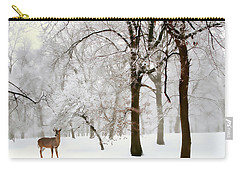 Winter's Breath Carry-all Pouch by Jessica Jenney