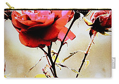 Carry-all Pouch featuring the photograph 40 Something by Faith Williams
