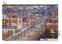 Carry-all Pouch featuring the photograph 400 S Salt Lake City by Ely Arsha