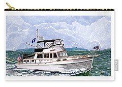 42 Foot Grand Banks Motoryacht Carry-all Pouch by Jack Pumphrey