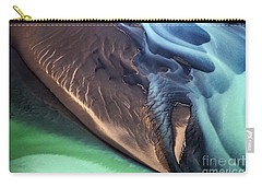 Iceland Aerial Photo Carry-all Pouch by Gunnar Orn Arnason