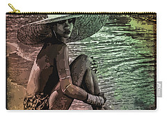 Rihanna Carry-all Pouch by Svelby Art