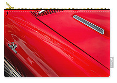 Carry-all Pouch featuring the photograph 427 Turbo-jet by John Schneider