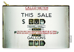 45 Cents Per Gallon Carry-all Pouch by Rebecca Sherman