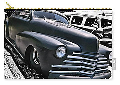 Carry-all Pouch featuring the photograph '47 Chevy Lowrider by Victor Montgomery