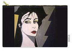 Carry-all Pouch featuring the painting Art Deco by Nora Shepley