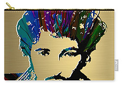 Bruce Springsteen Gold Series Carry-all Pouch by Marvin Blaine