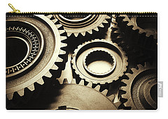 Cogs Carry-all Pouch by Les Cunliffe