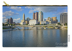 Fx1l-802 Columbus Ohio Skyline Photo Carry-all Pouch