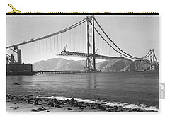 Golden Gate Bridge Carry-all Pouch by Underwood Archives