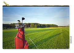 Golf Gear Carry-all Pouch by Michal Bednarek