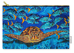 Green Sea Turtle Carry-all Pouch